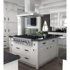 Kitchen Range Hoods Free Outdoor Plans Zline And Bath 400 Cfm Ducted Island Wood Hood