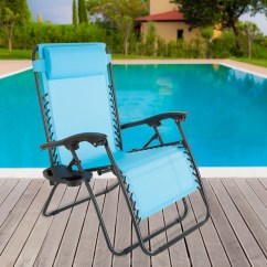 Zero Gravity Pool Chairs Baby Throne Chair Pure Garden Reclining Reviews Wayfair