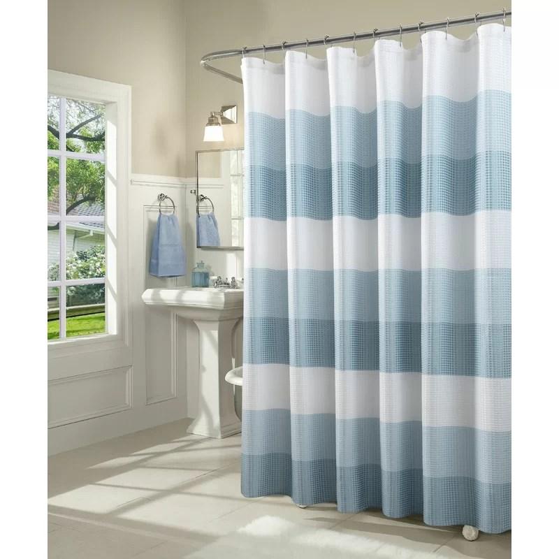 arminta geometric single shower curtain