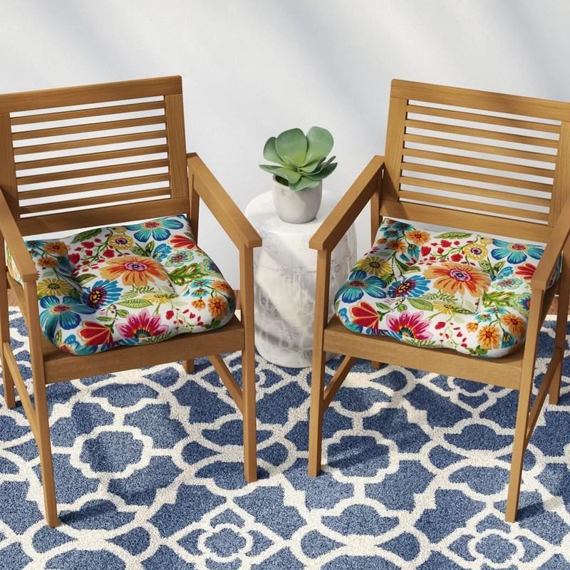 indoor outdoor patio chair cushion