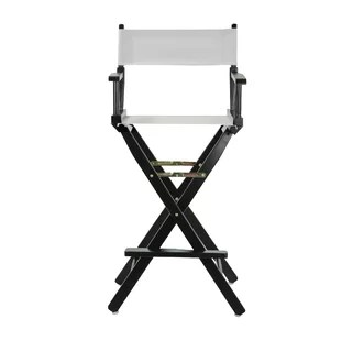 directors chair white aeron adjust armrest director beach lawn chairs you ll love wayfair quickview