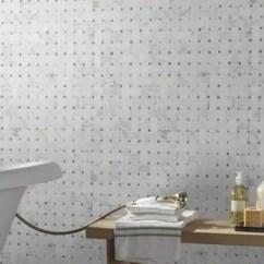 Mosaic Backsplash Kitchen Menards Countertops Find The Perfect Tile Wayfair Calacatta Cressa Basketweave Honed Marble In White