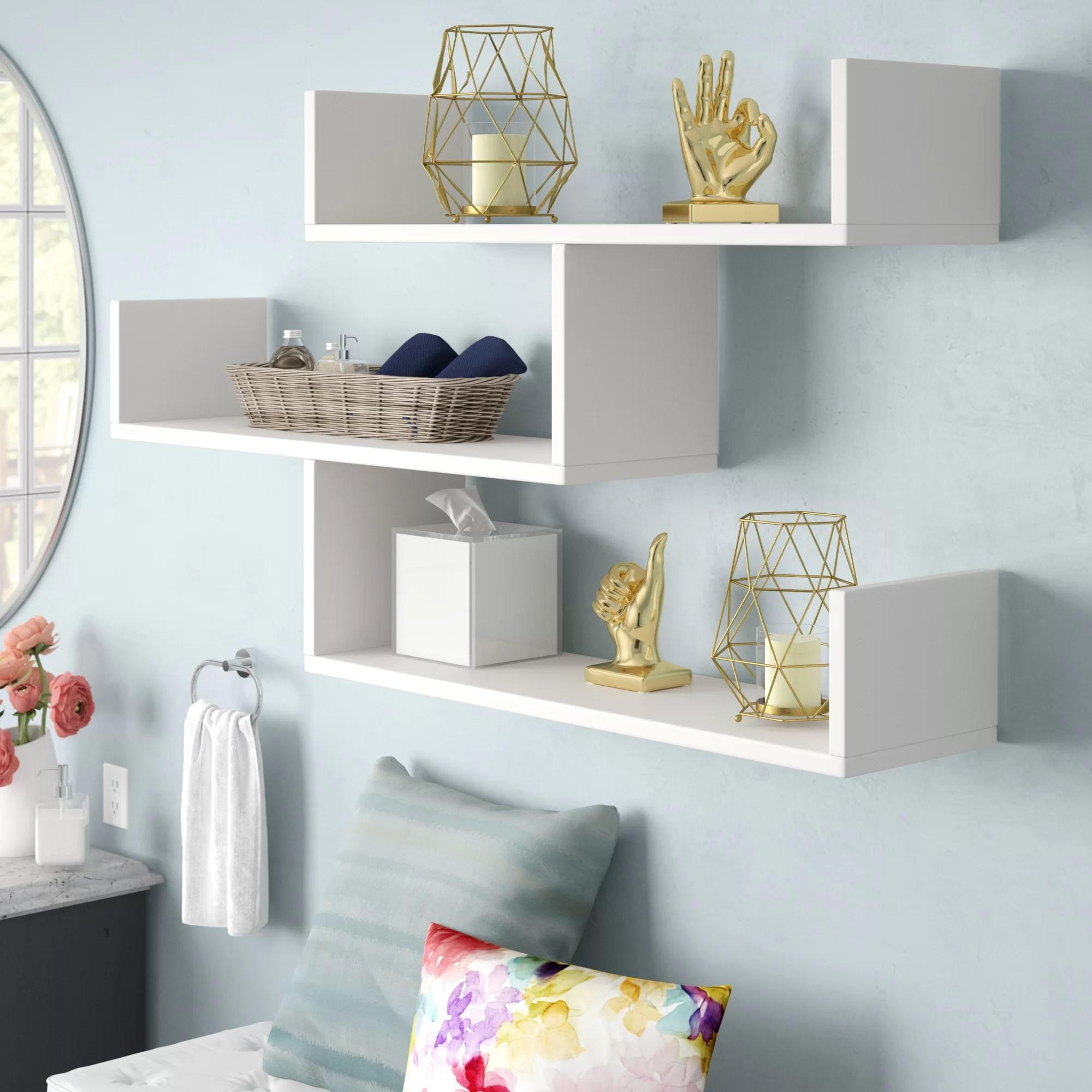 Mckenny Modern Wall Shelf