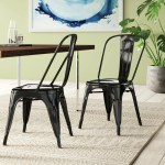 Black Kitchen Dining Chairs You Ll Love In 2020 Wayfair