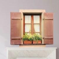 Fake Window Wall Decals   Wayfair