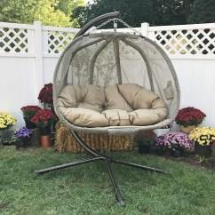 Hanging Chair Bolt Bin Bags Chairs Flowerhouse Pumpkin Swing With Stand Reviews Wayfair