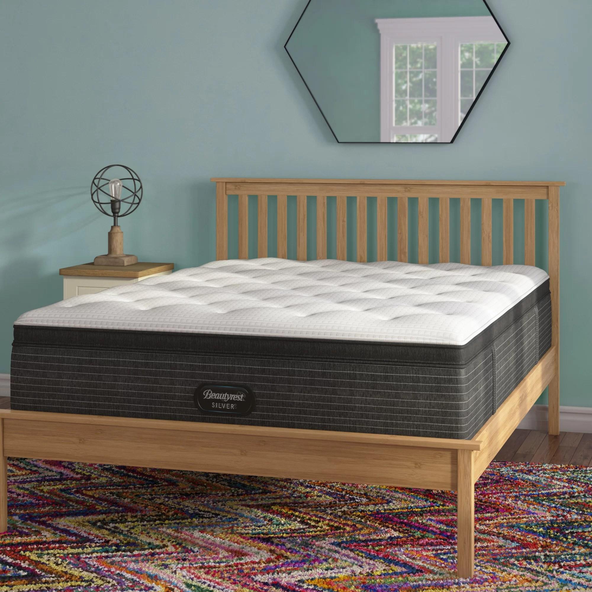 beautyrest 16 plush pillow top hybrid mattress