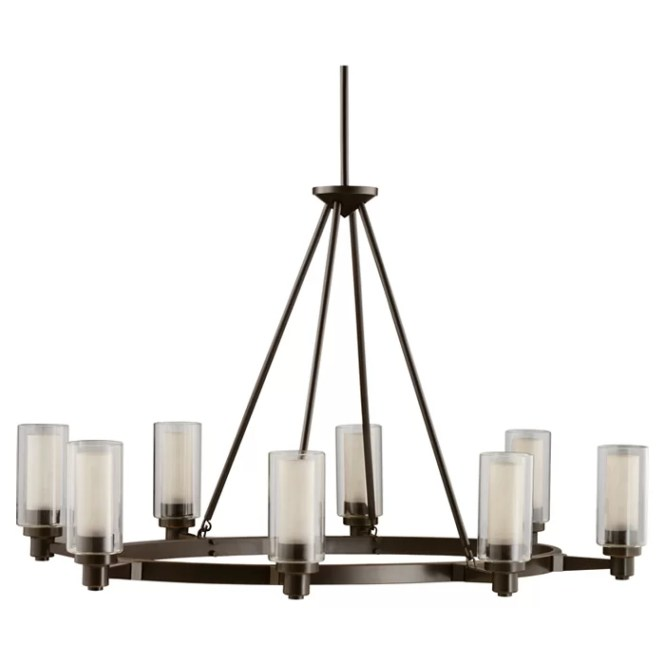 Gramercy 8 Light Candle Style Chandelier