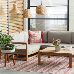 Modern Twine Curved Arm Sofa Small Sleeper Outdoor Allmodern Furniture