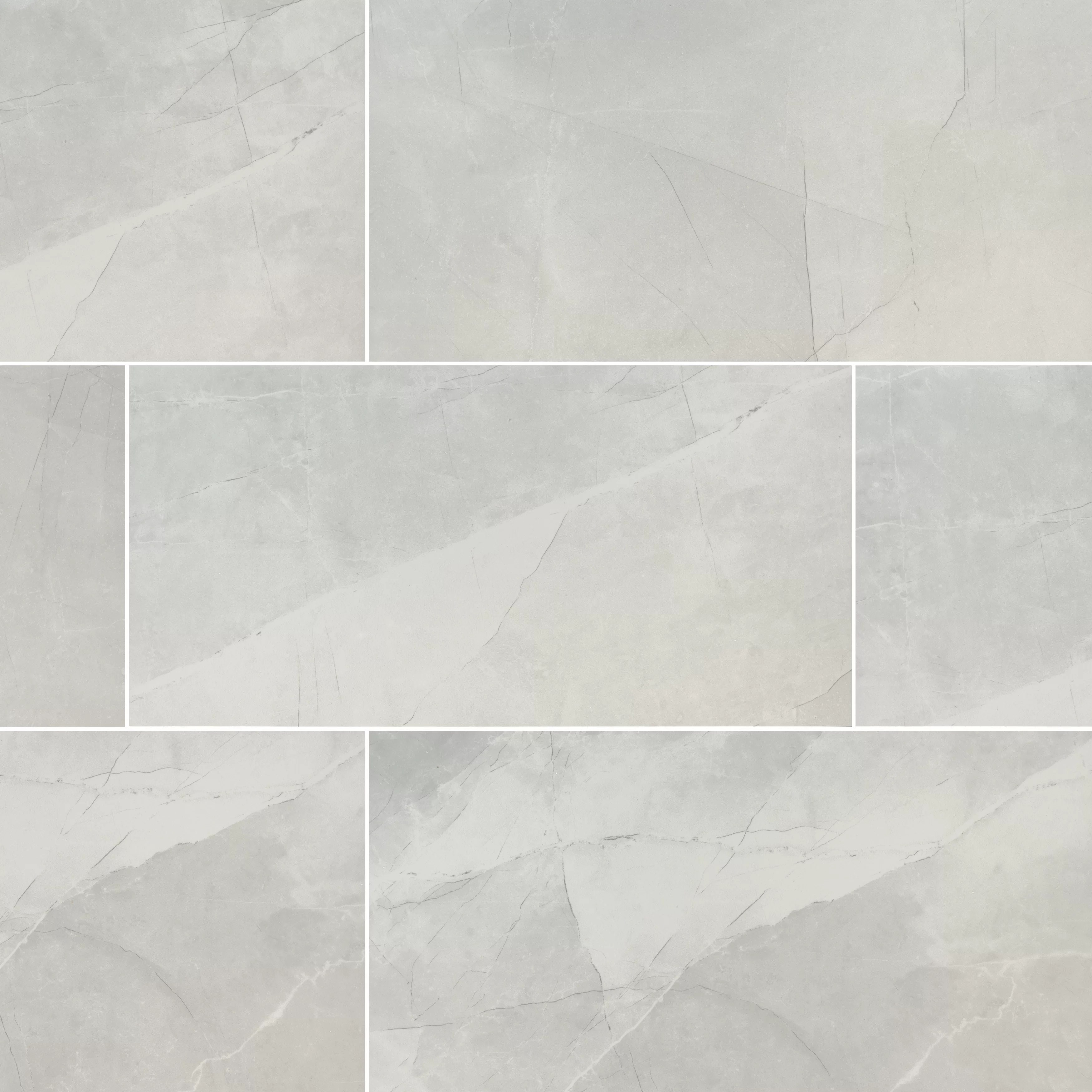 sande 24 x 48 porcelain stone look wall floor tile