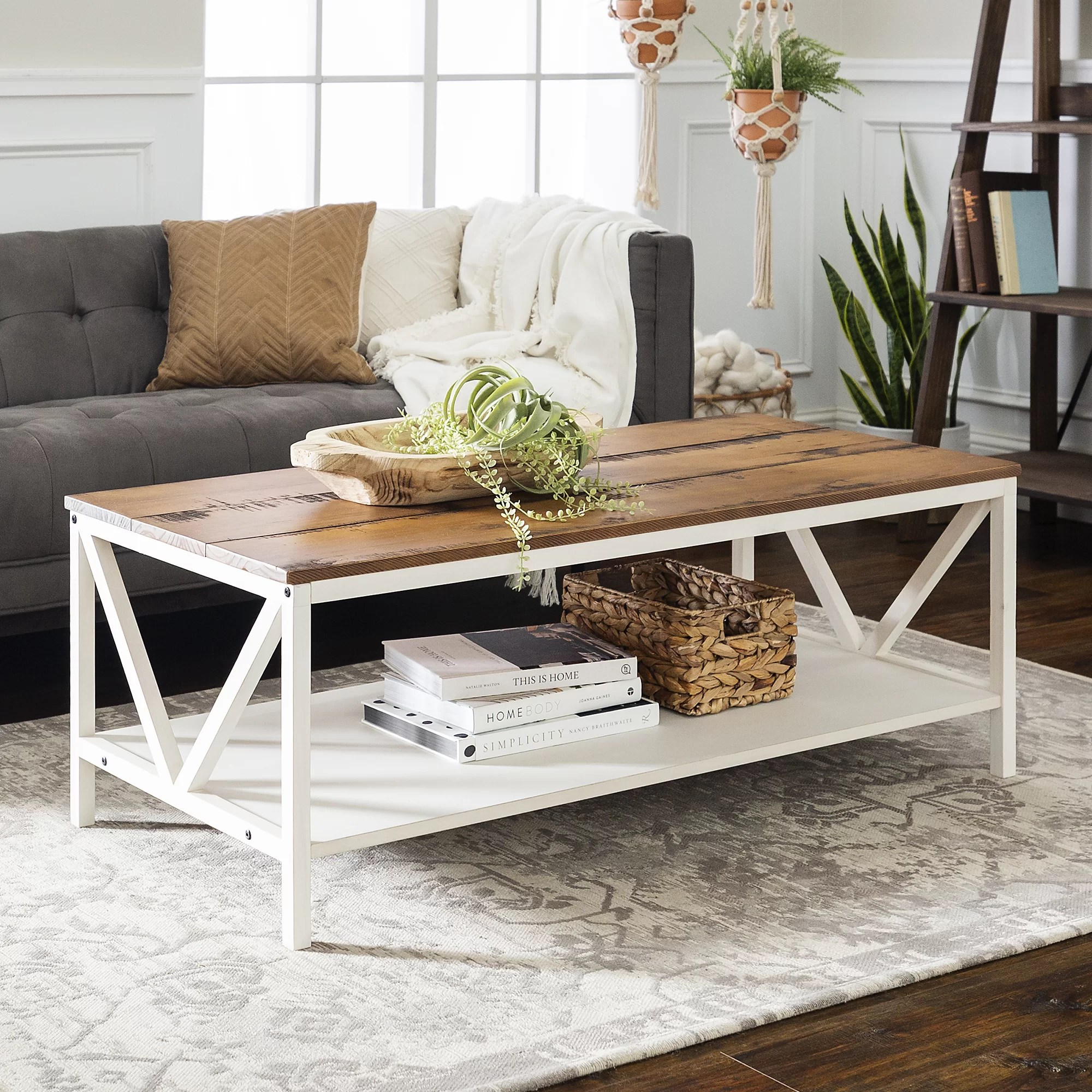 light wood coffee tables you ll love in