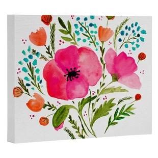 floral botanical wall art