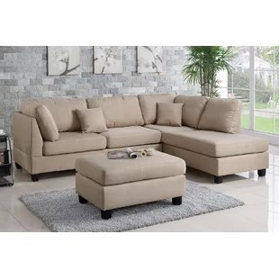 sectional sofa couch luke leather reviews sectionals you ll love wayfair quickview