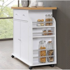 Kitchen Spice Rack 2 Drawer Base Cabinet Zipcode Design Hoglund Island With And Towel Reviews Wayfair