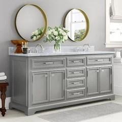 68 inch double vanity wayfair