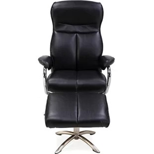 desk chair recliner exercises for seniors dvd office with footrest wayfair arcuri