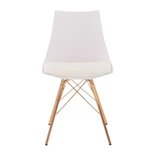 gold dining chairs chair stool combo modern contemporary rose allmodern quickview