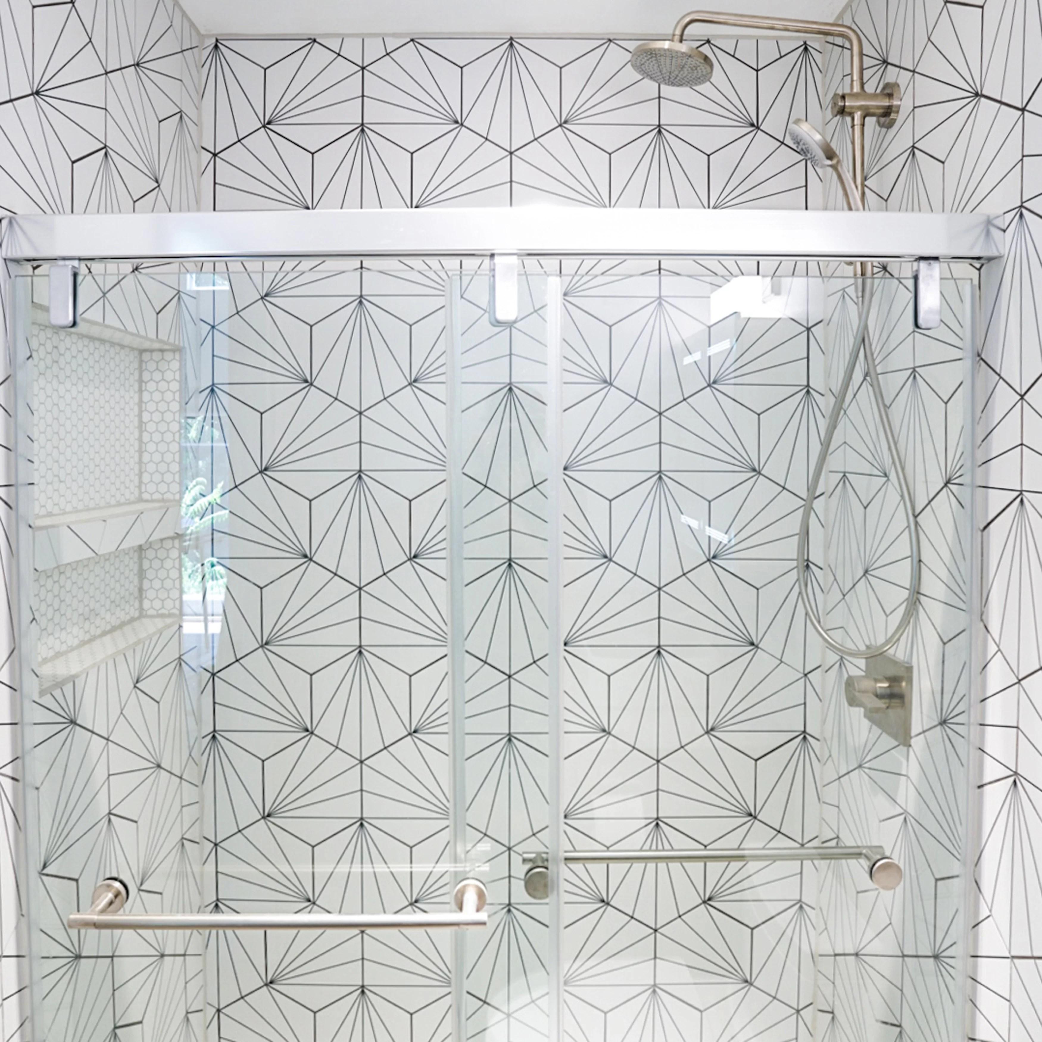 reanna 9 x 10 porcelain patterned wall floor tile