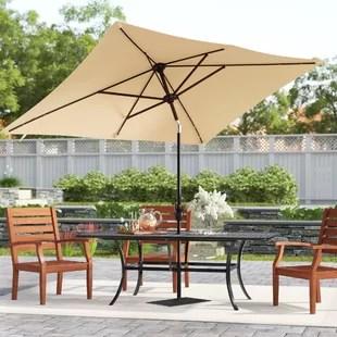 serena 10 x 6 5 rectangular market umbrella