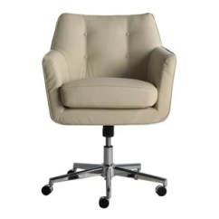 Swivel Desk Chair Without Wheels Krueger Folding Chairs Birch Lane Quickview