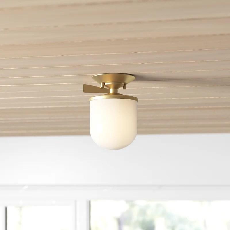 flush mount lighting aliso 1 light semi flush mount