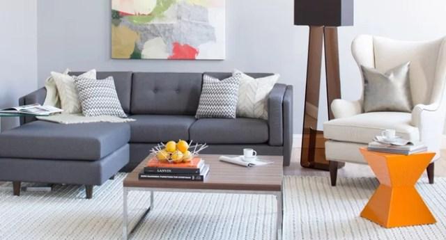 Modern Living Room on a Budget | Wayfair