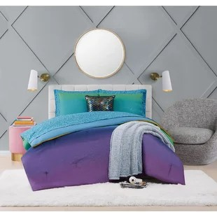 material girl mermaid ombre bed ensemble