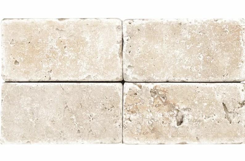 rustic ivory 3 x 6 travertine subway tile