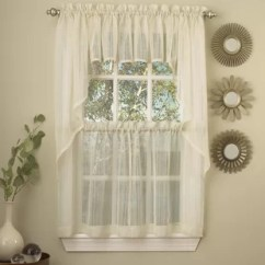 Swag Curtains For Kitchen Complete Cabinet Packages Country Wayfair Quickview