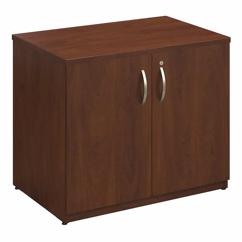 Series C Elite 2 Door Storage Cabinet Color: Hansen Cherry