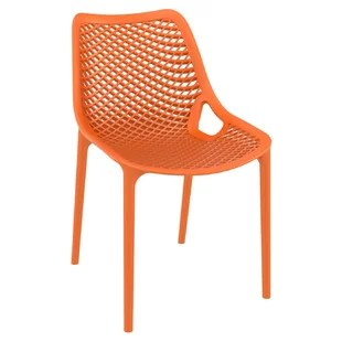 farrah stacking patio dining chair set of 2
