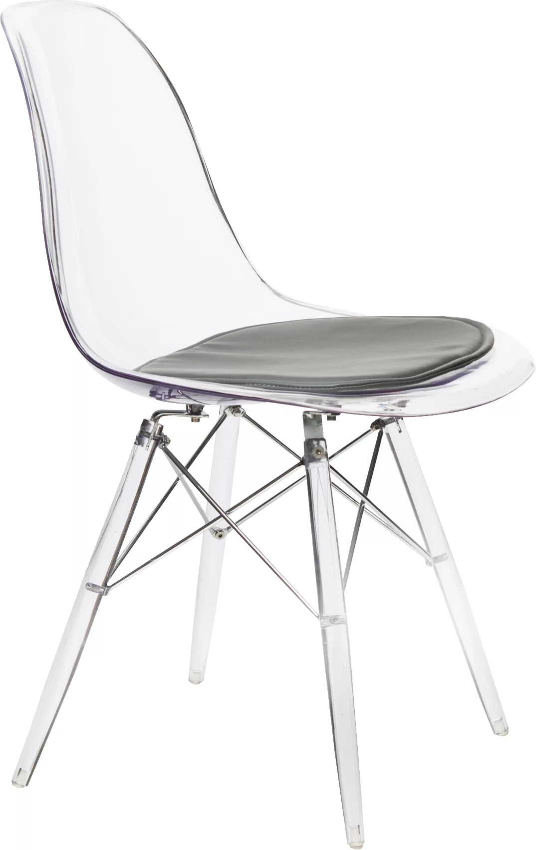 Plastic Clear Chair Mohnton Clear Side Chair