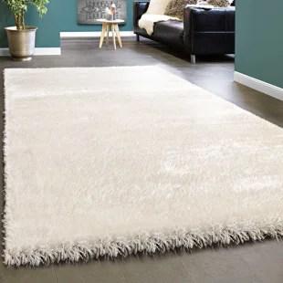 living room large rugs egyptian themed you ll love wayfair co uk amabel shag white rug