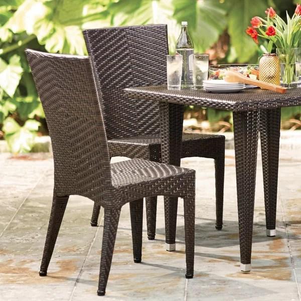 wicker patio furniture wayfair