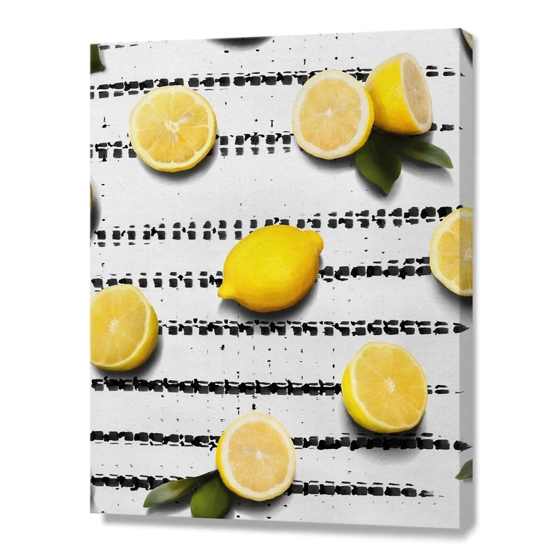 Fruit 4 by Leemo Photographic Print on Canvas Size: 35 H x 28 W