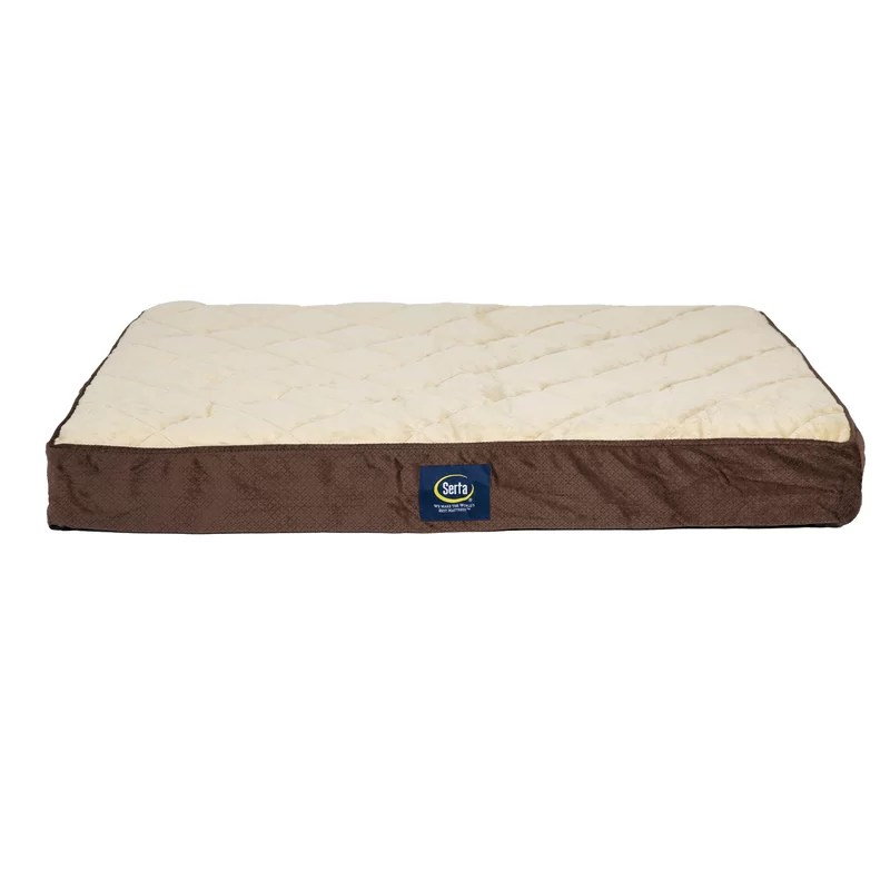 pet quilted pillowtop ortho pet bed pillow