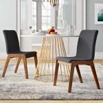 Bradley Linen Upholstered Side Chair Reviews Allmodern