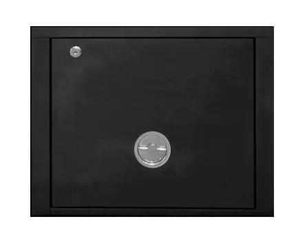 Stack Storage Cabinet Color: Black