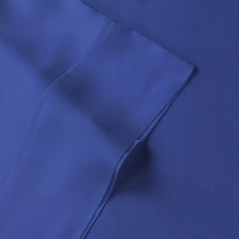 Rayon from Bamboo 300 Thread Count Sheet Set Size: Full Color: Navy