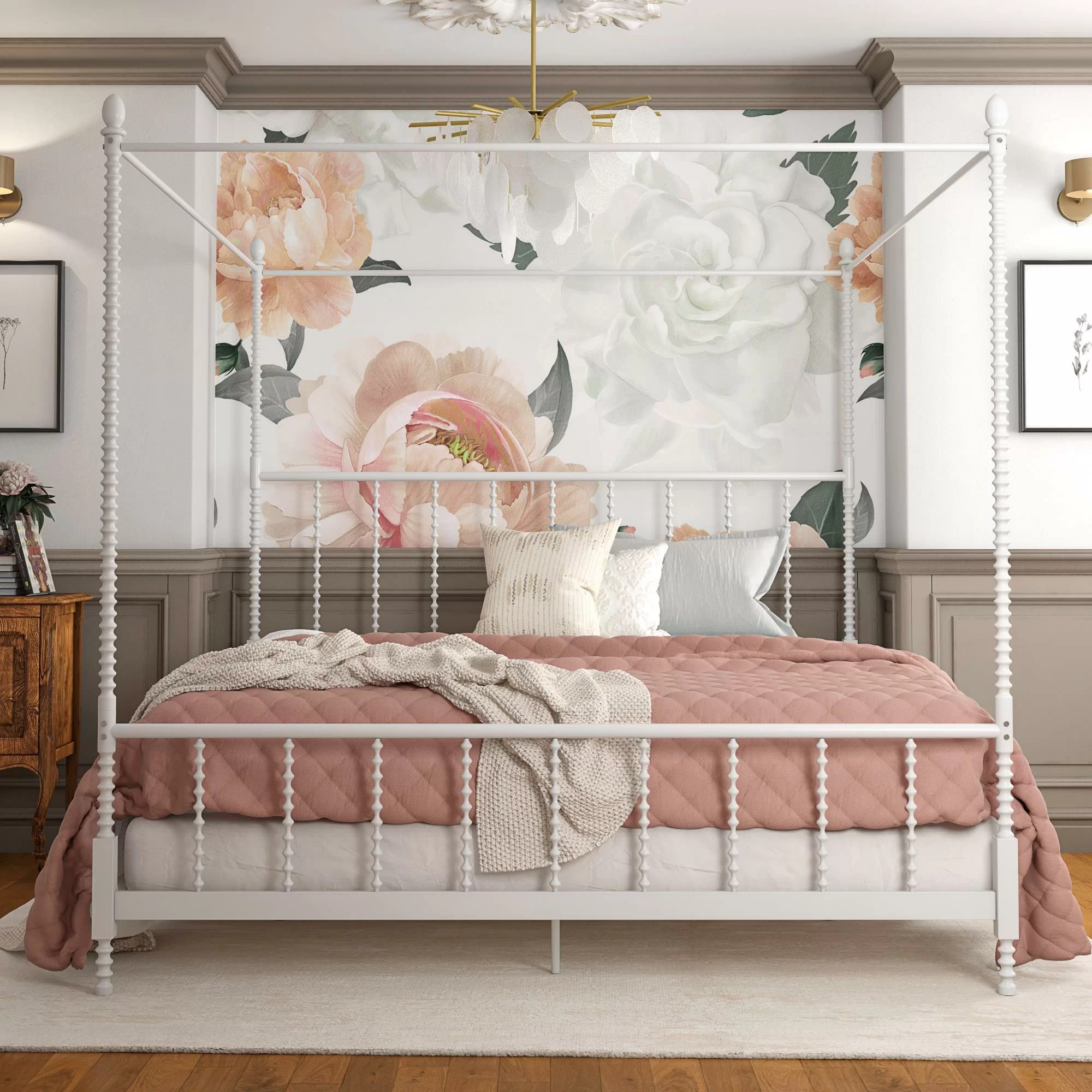 - Aesthetic Bedroom Canopy Bed - Canopy Ideas 2020