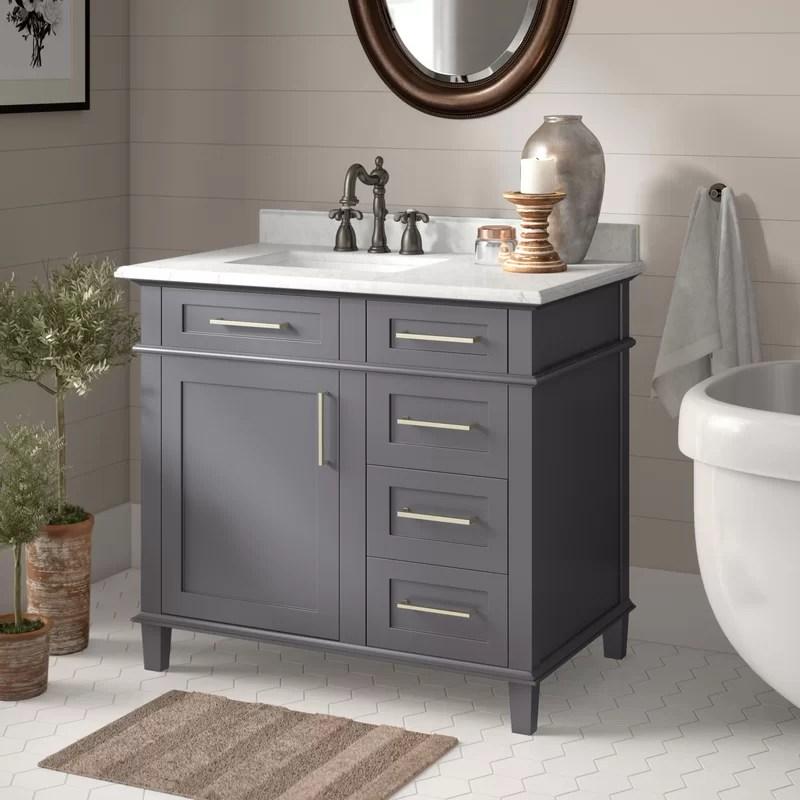 Birch Lane Newport 36 Single Bathroom Vanity Reviews Wayfair