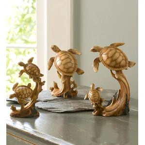 sea turtle bathroom decor | wayfair