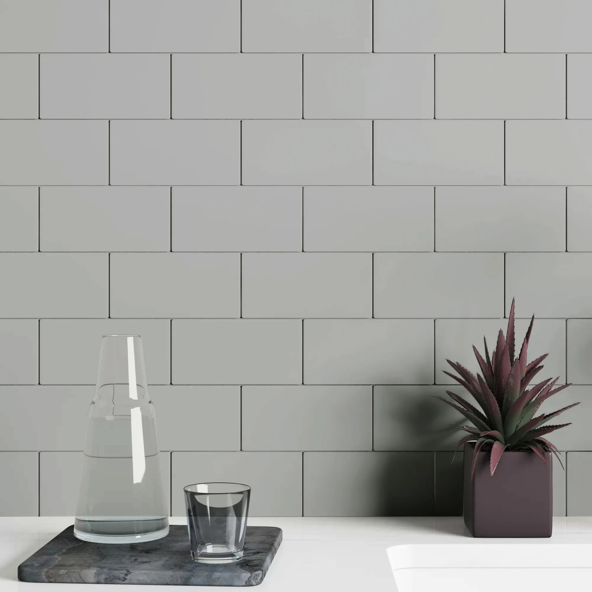 gladwell 3 x 6 ceramic subway tile