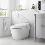 Ove Decors 1 27 Gpf Elongated Wall Mount Bidet Toilet Seat Included Wayfair