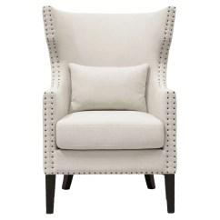 Traditional Wingback Chair Microfiber And Ottoman Gracie Oaks Demaris Reviews Wayfair