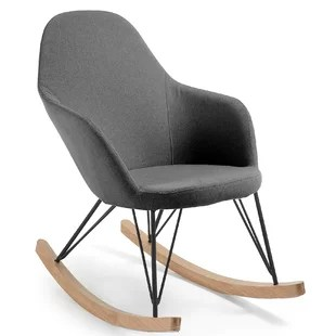 cheap modern rocking chair game room chairs wayfair co uk kermit metal
