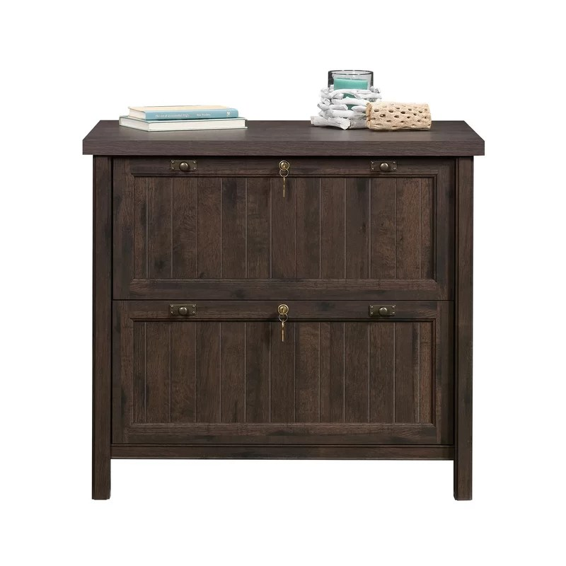 Wood Lateral Filing Cabinet