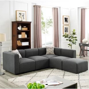 modular living room furniture set of chairs sectionals you ll love wayfair ca nash reversible sectional
