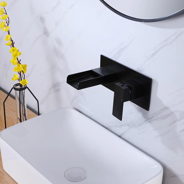 modern wall mounted bathroom faucet