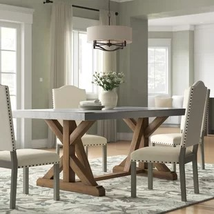 kitchen and dining room tables organizing 6 seat you ll love wayfair ca wydmire table